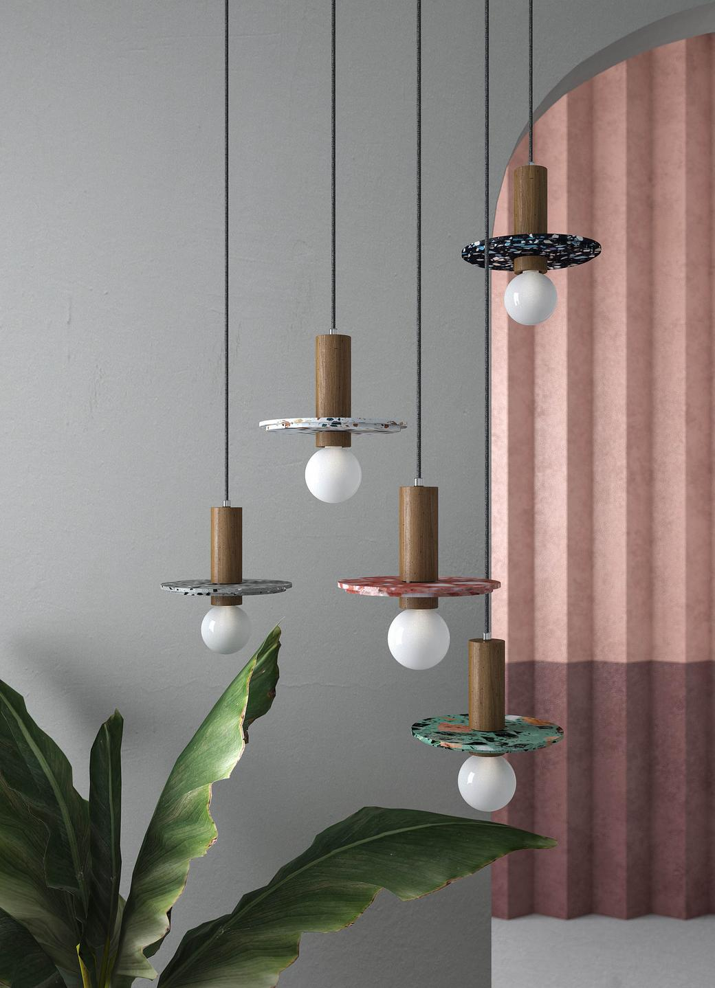 Подвесной светильник Plate_MW Terazzo