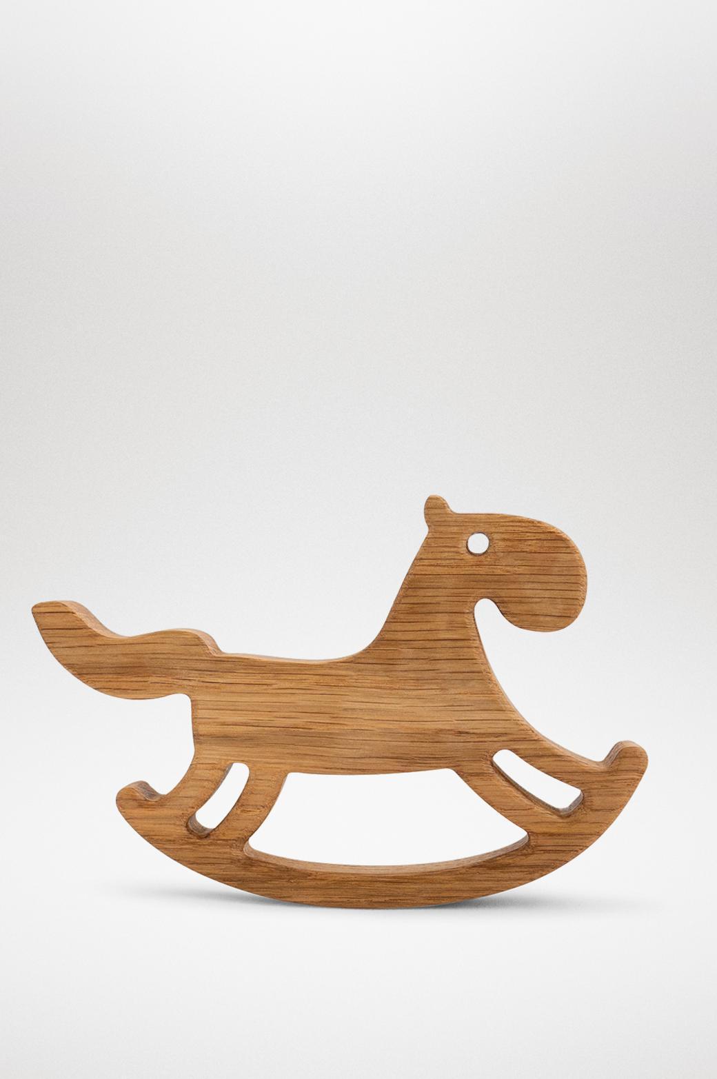 """Деревянная интерьерная игрушка """"Лошадка"""" из массива дуба/ясеня"""