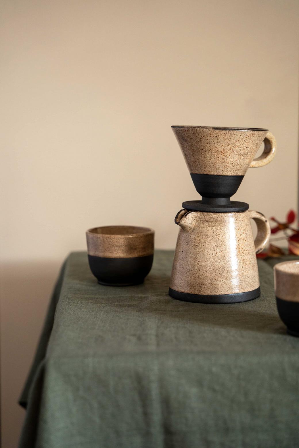 Кофейный набор( пуровер и кофейник)