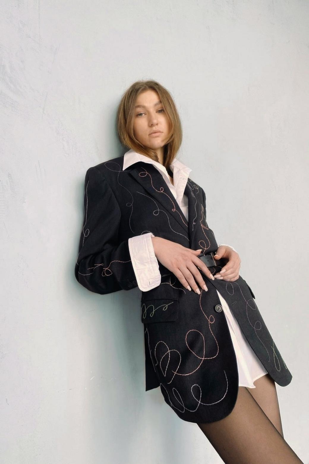 Пиджак «Кучерявый»