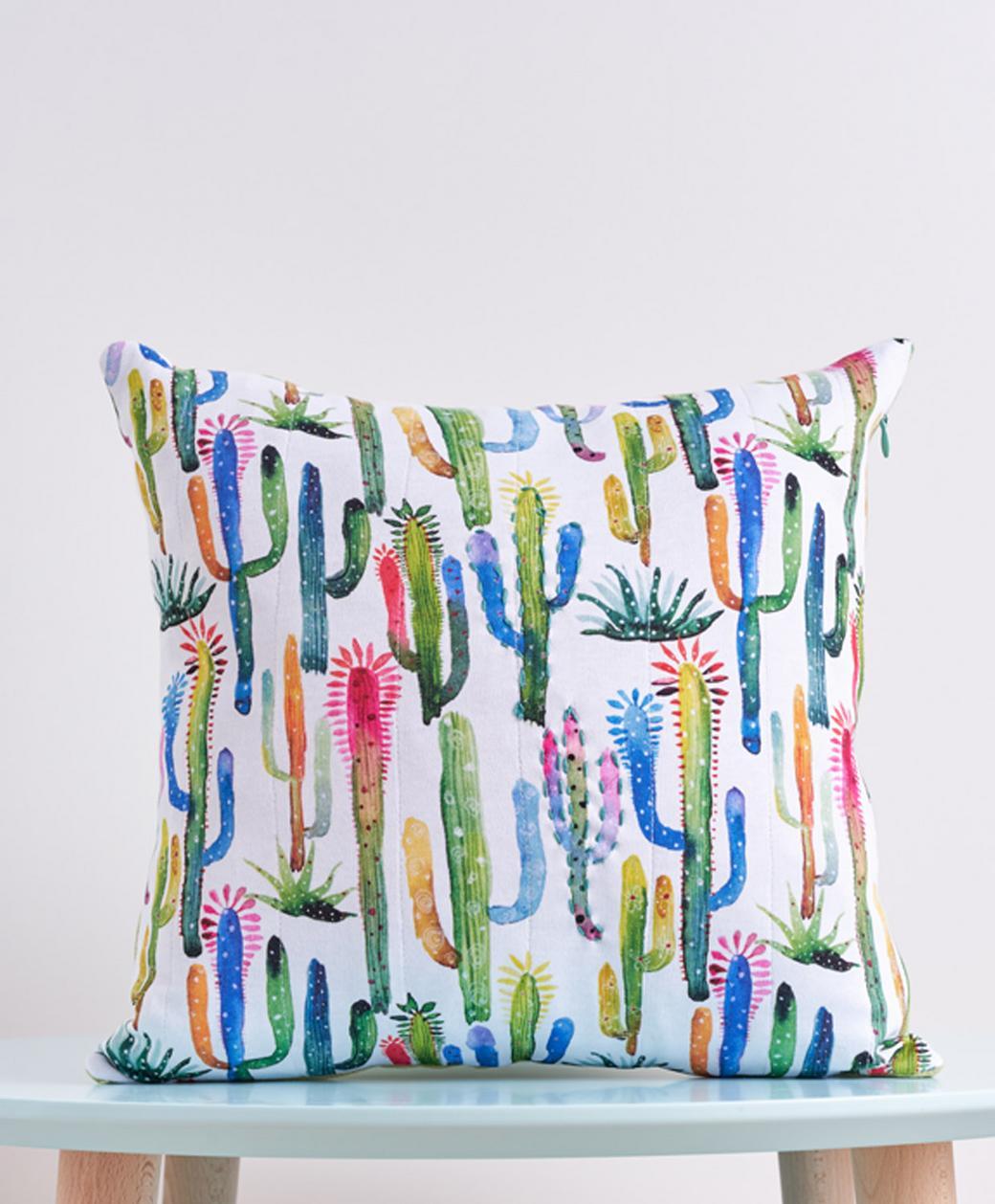 "Декоративная подушка ''Cactus mood"""